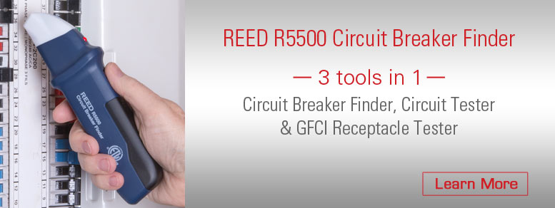 REED R5500 Receptacle Tester