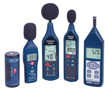 REED Instruments Sound Level Meters