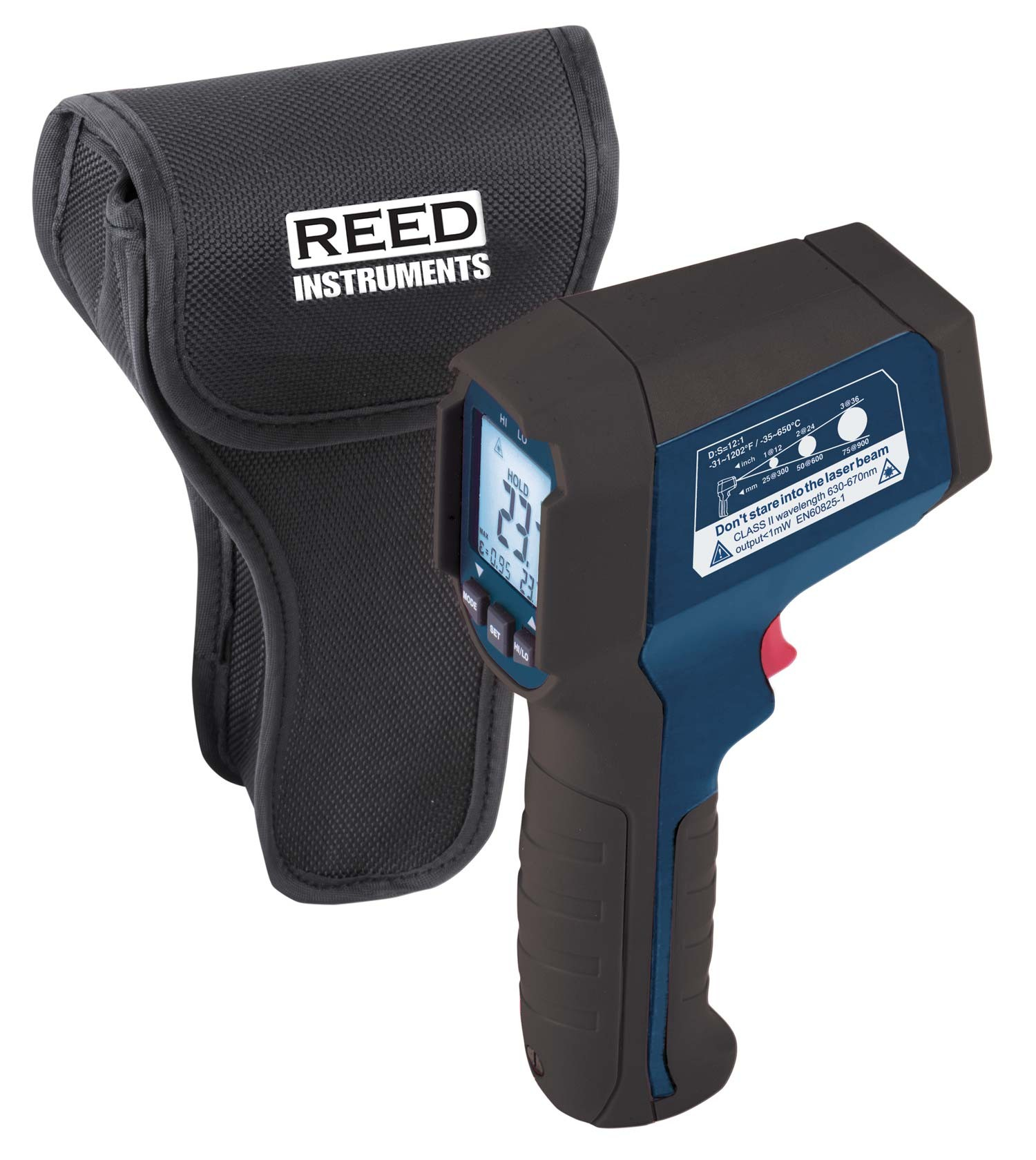 REED R2310 Infrared Thermometer, 12:1, 1202°F (650°C)-Included