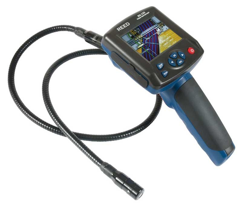 REED BS-150 Video Borescope Inspection Camera, Recordable-