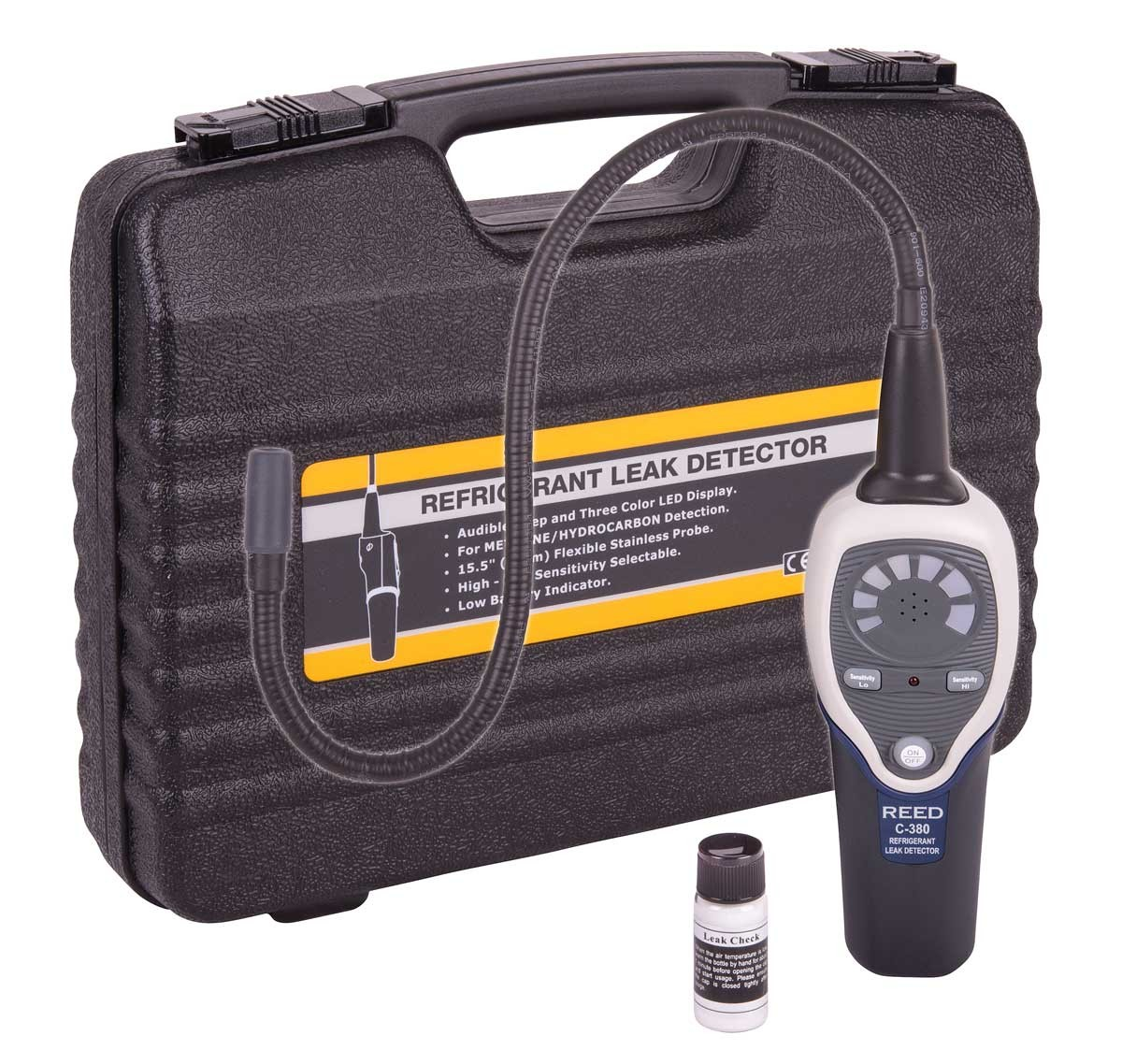 REED C-380 Refrigerant Leak Detector-Included