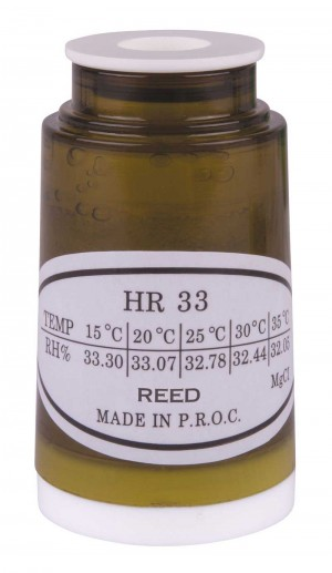 REED HR33 Humidity Calibration Standard, 33%-