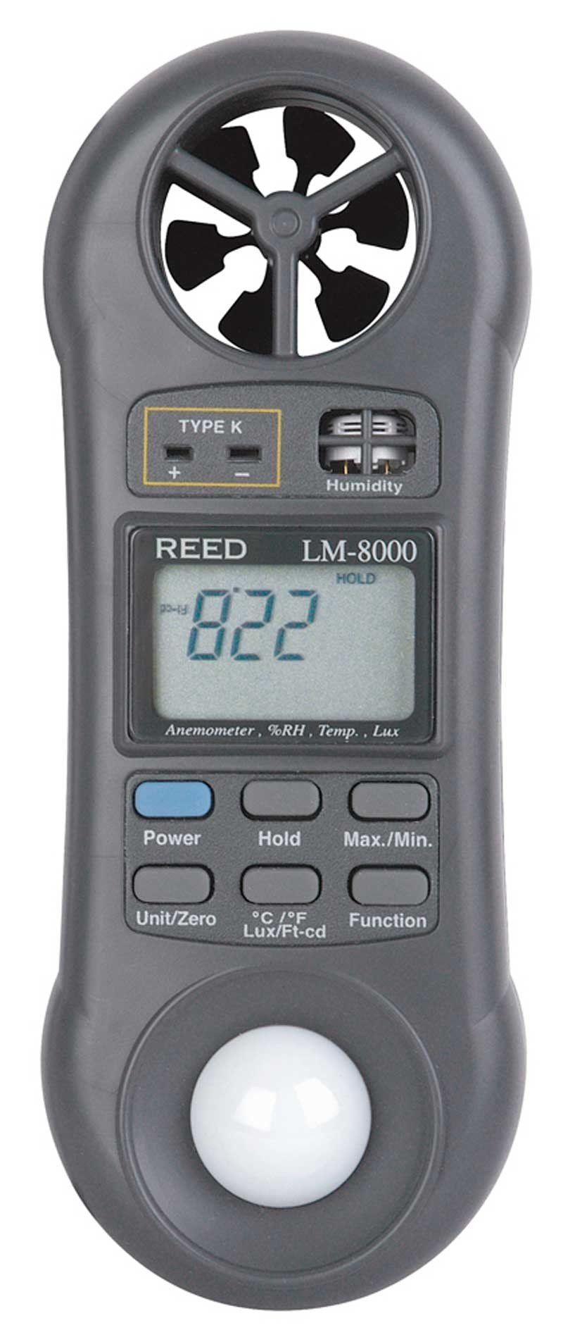 REED LM-8000 Multi-Function Environmental Meter-