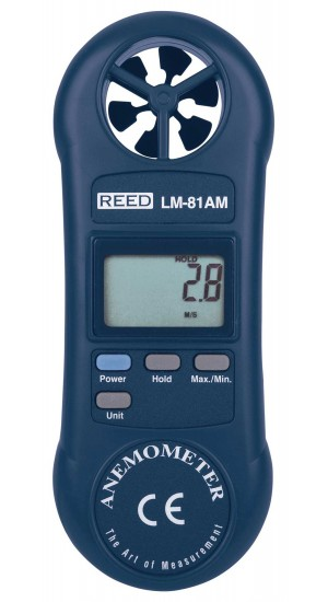 REED LM-81AM Compact Vane Anemometer-