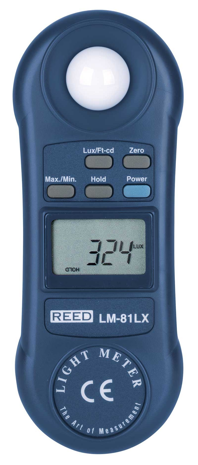 REED LM-81LX Compact Light Meter, 20,000 Lux / 2,000 Foot Candles (Fc)-