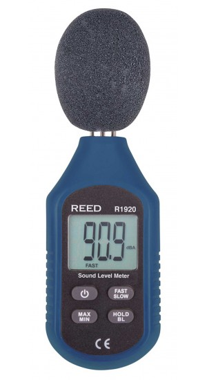 REED R1920 Sound Level Meter, Compact Series-