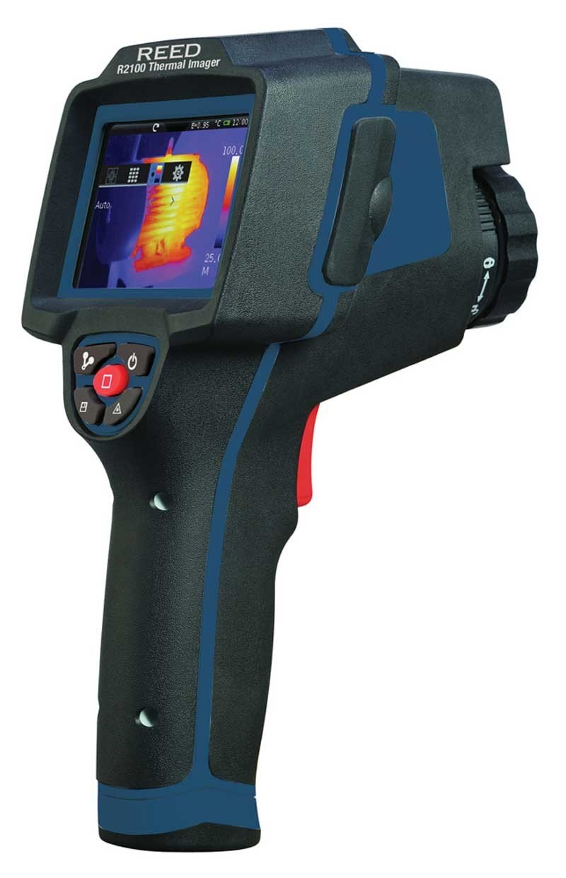 REED R2100 Thermal Imaging Camera, 19,200 Pixels (160 x 120)-