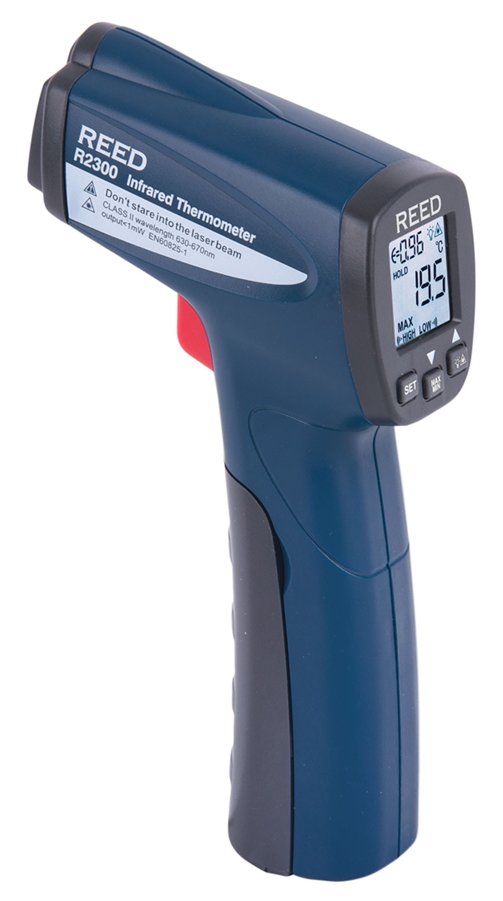 REED R2300 Infrared Thermometer, 12:1, 752°F (400°C)-REED R2300 2
