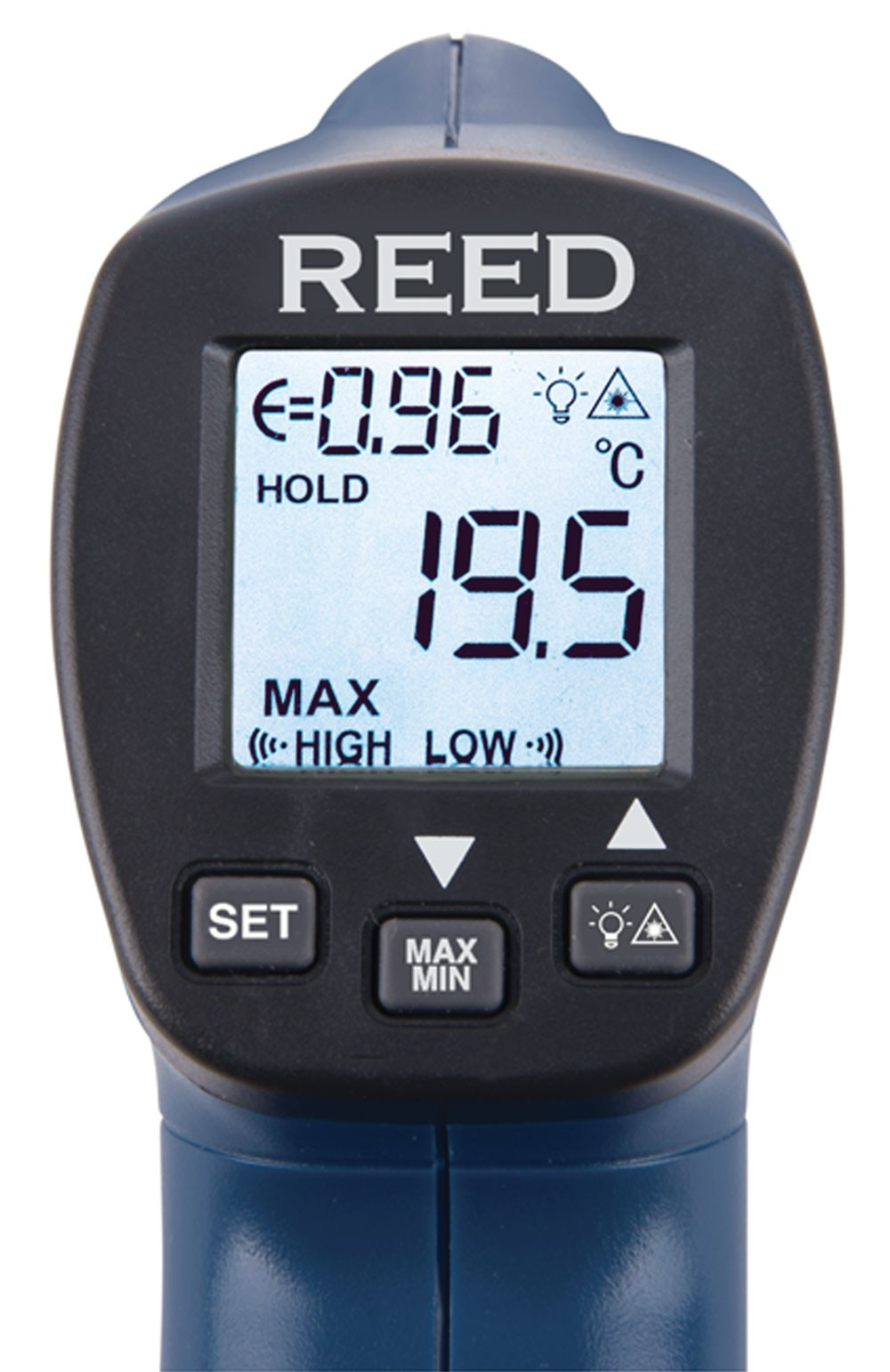 REED R2300 Infrared Thermometer, 12:1, 752°F (400°C)-REED R2300 5
