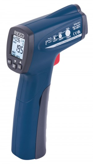 REED R2300 Infrared Thermometer, 12:1, 752°F (400°C)-