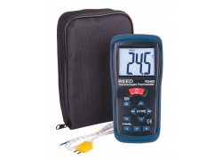 REED R2400 Type K Thermocouple Thermometer-Included