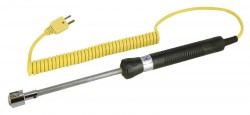 REED R2920 Surface Thermocouple Probe, Type K, -58 to 932°F (-50 to 500°C)-