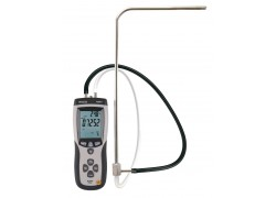 REED R3001 Pitot Tube Anemometer and Differential Manometer, with Air Volume (CFM/CMM)-