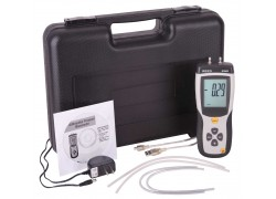 REED R3002 Digital Manometer, Gauge / Differential, 5psi-Included