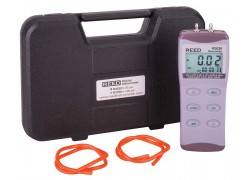 REED R3030 Digital Manometer, Gauge / Differential, 30psi-Included