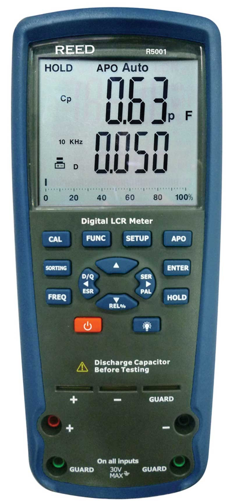 REED R5001 Passive Component LCR Meter-