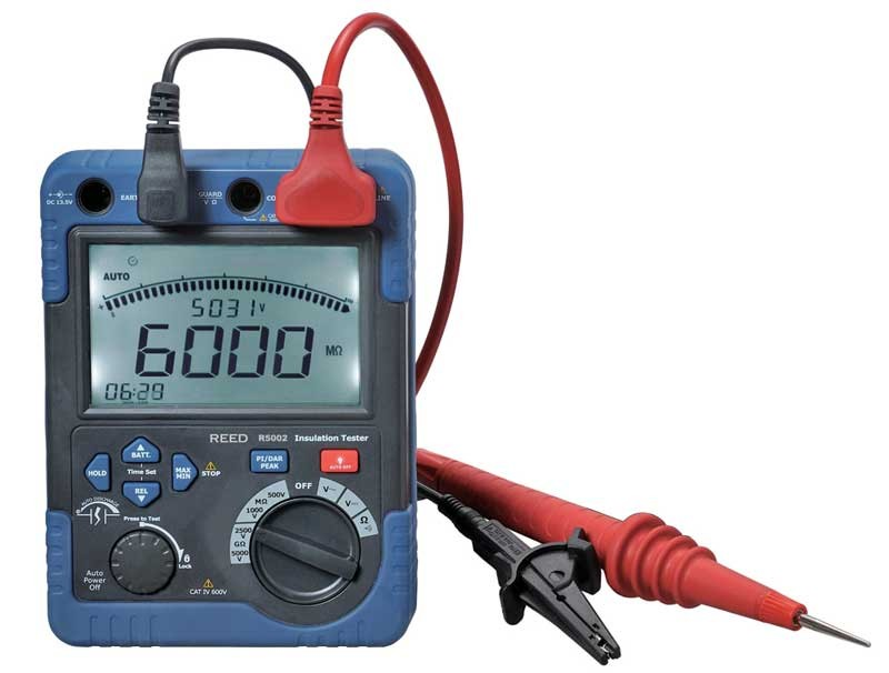 REED R5002 Digital High Voltage Insulation Tester-
