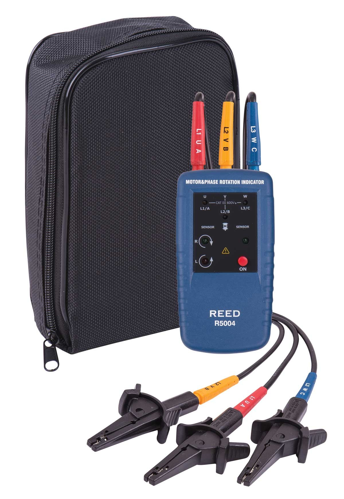 REED R5004 Motor Rotation and 3-Phase Tester-REED R5004 Kit