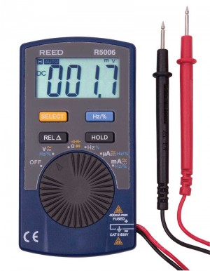 REED R5006 Autoranging Pocket Multimeter-