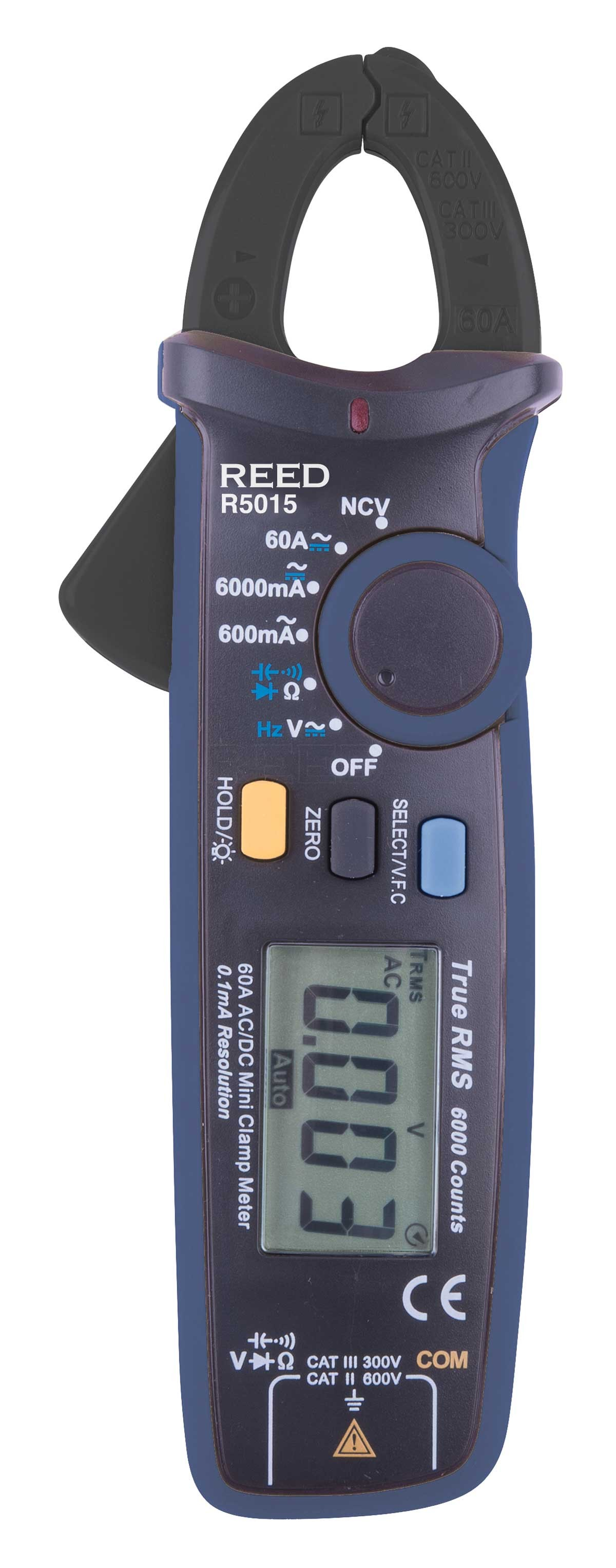 REED R5015 True RMS mA Clamp Meter-