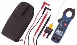 REED R5030 500A AC/DC Clamp Meter with Temperature and Non-Contact Voltage Detector, True RMS-Included