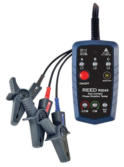 REED R5044 Non-Contact Phase Rotation Tester-