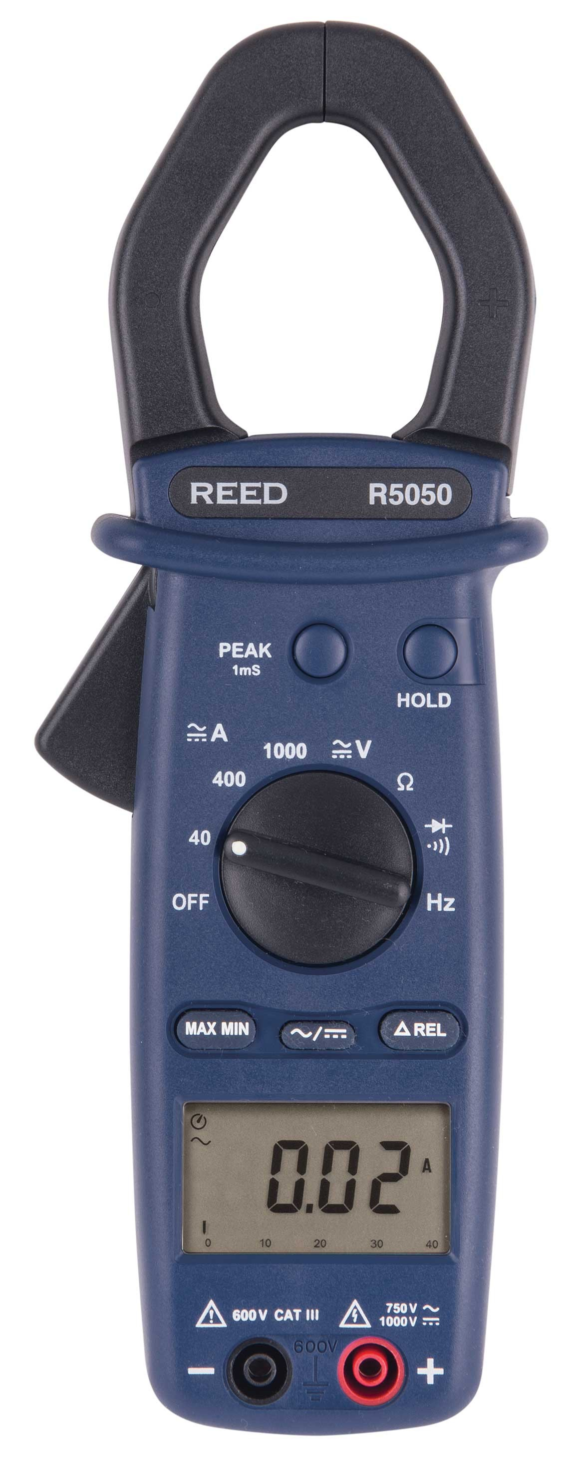 REED R5050 1000A True RMS AC/DC Clamp Meter-