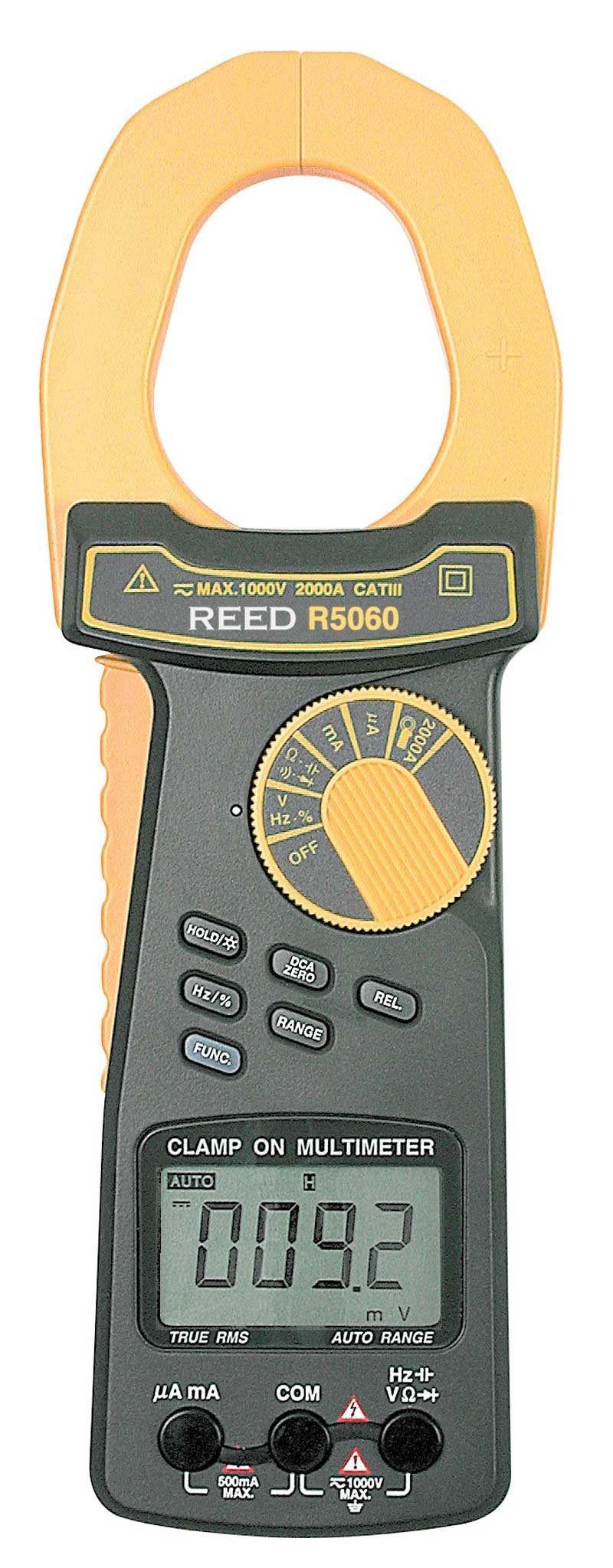REED R5060 2000A True RMS AC/DC Clamp Meter-