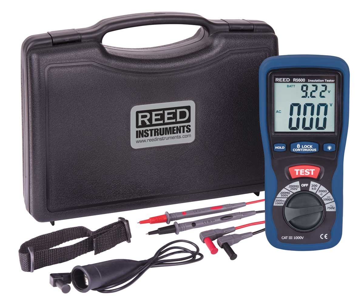 REED R5600 Insulation Tester -Included