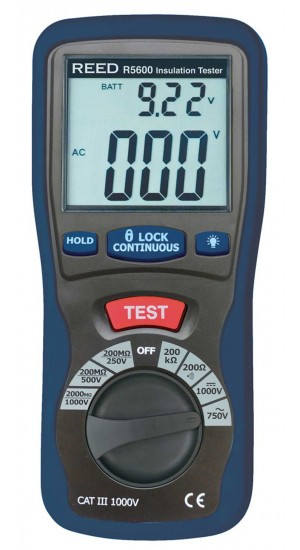 REED R5600 Insulation Tester -