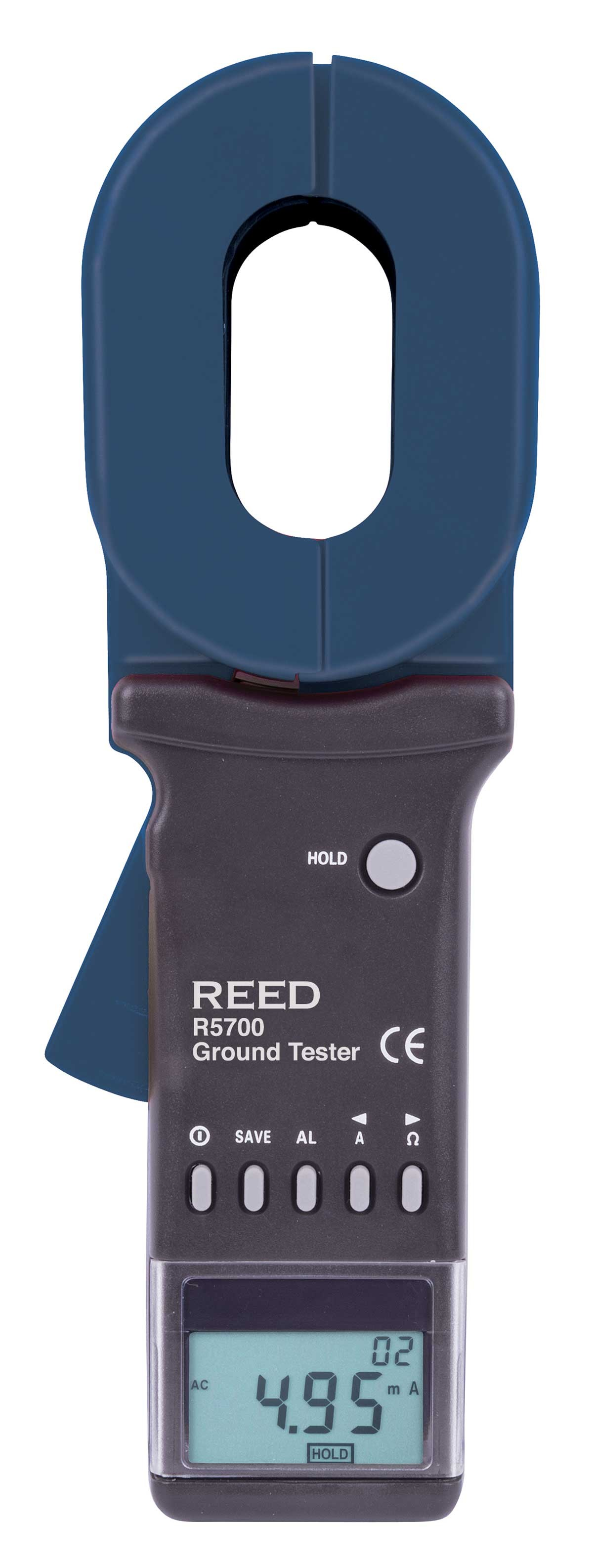 REED R5700 Clamp-On Ground Resistance Tester-
