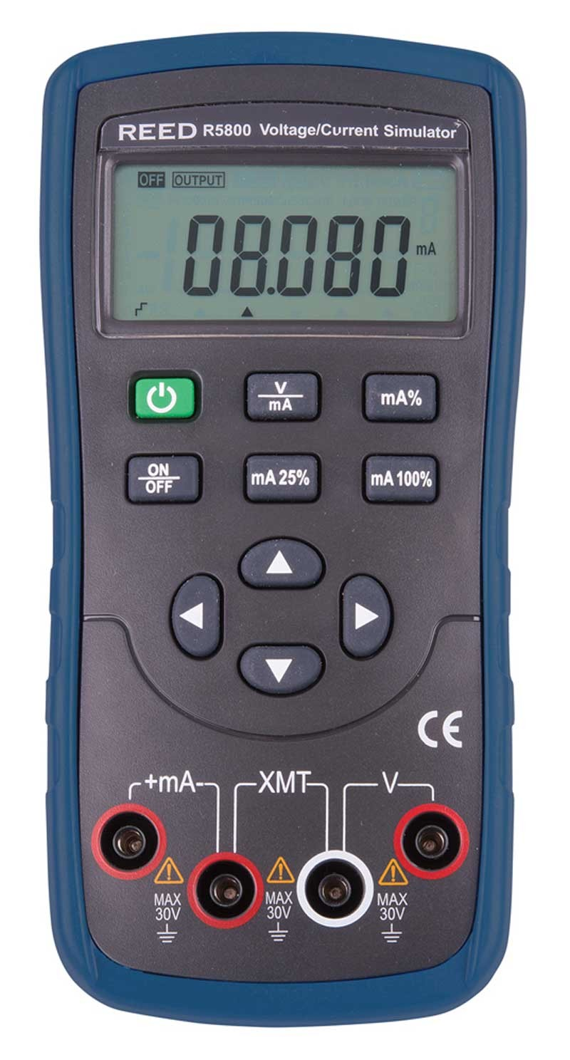 REED R5800 Voltage/Current Simulator, 10V/20mA-