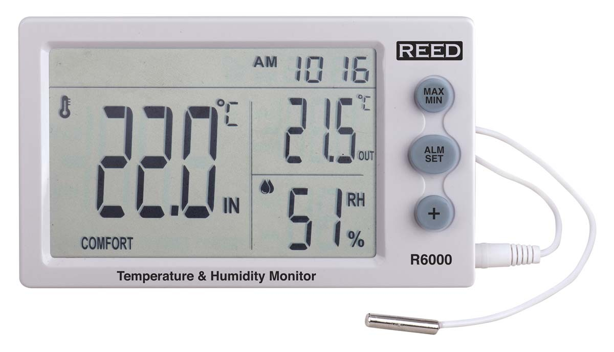 REED R6000 Temperature and Humidity Meter-REED R6000 3