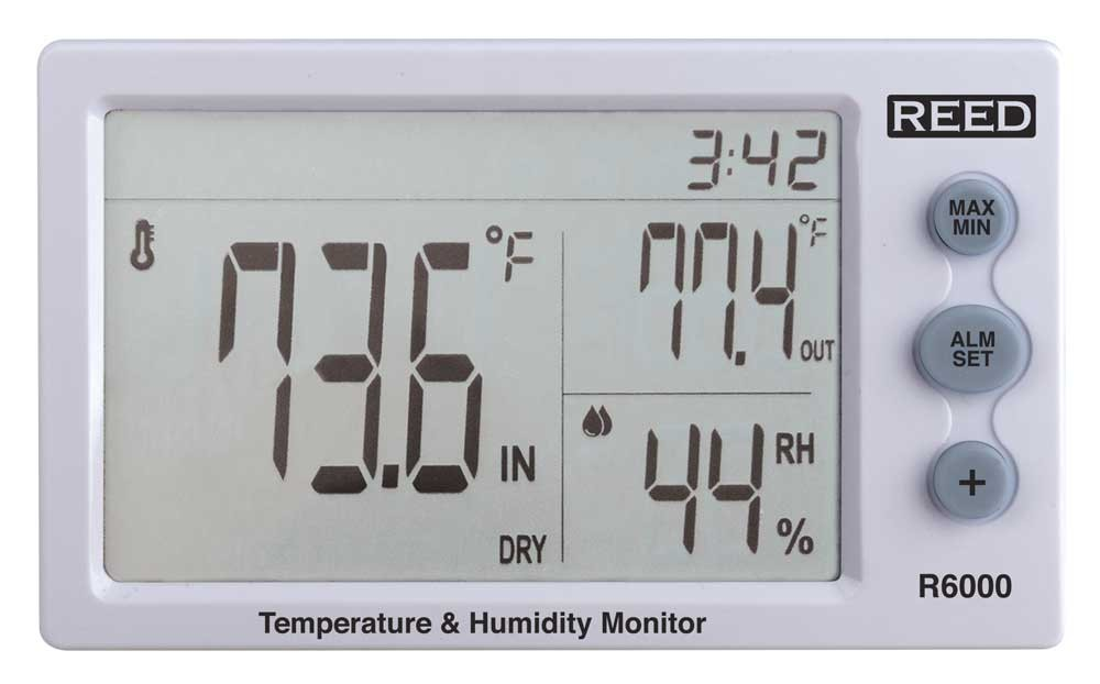 REED R6000 Temperature and Humidity Meter-