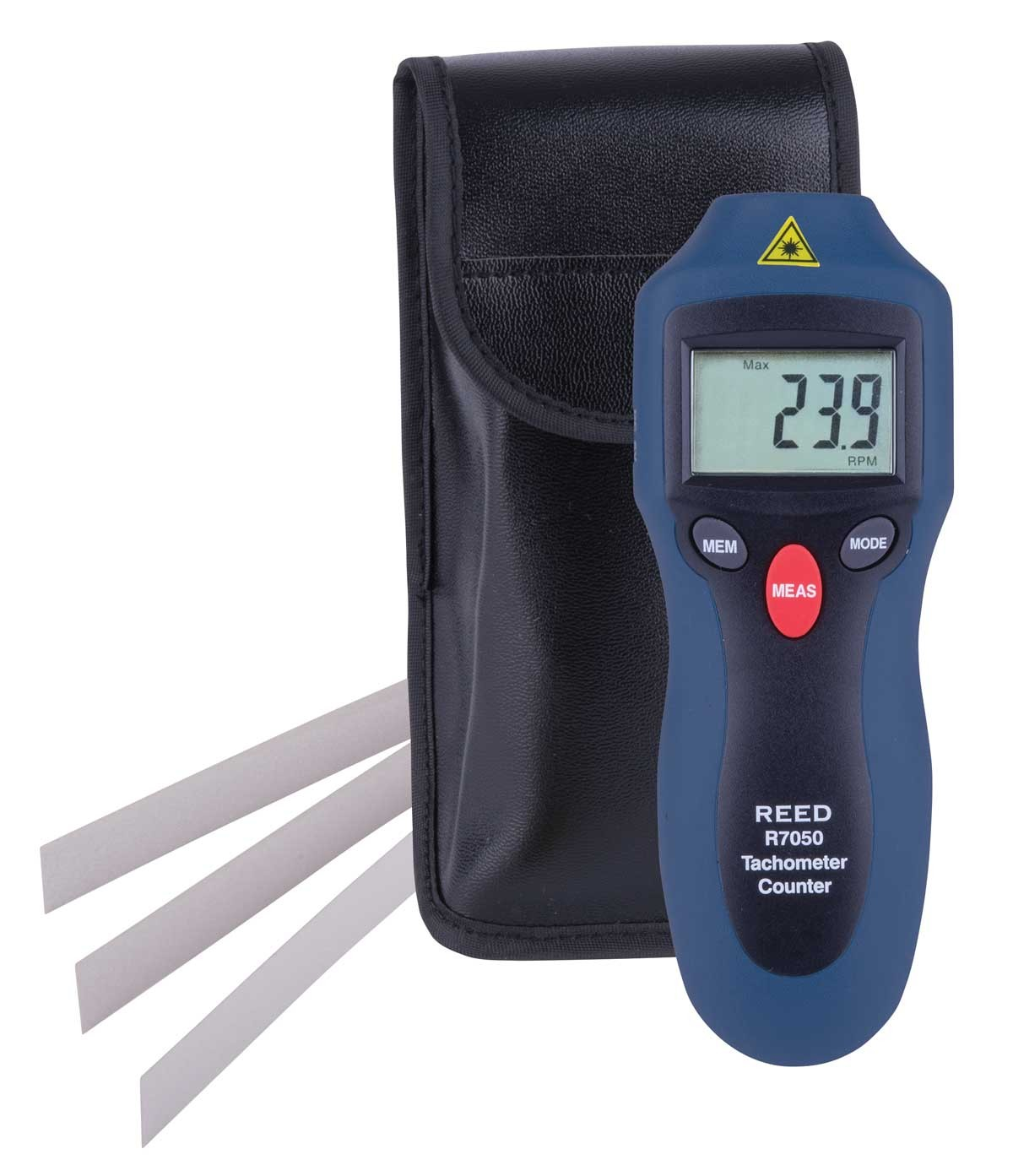 REED R7050 Compact Photo Tachometer and Counter-Included