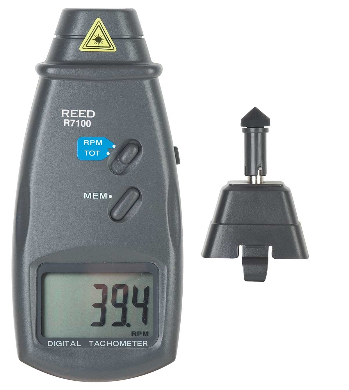 REED R7100 Combination Contact / Laser Photo Tachometer -Included