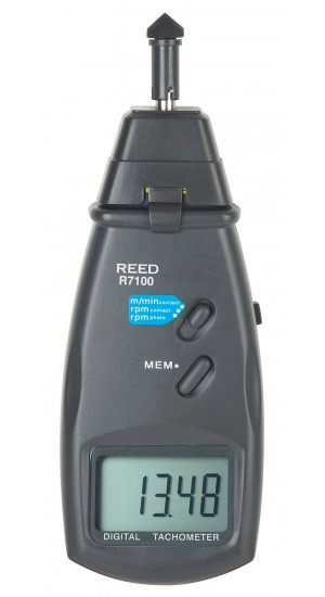 REED R7100 Combination Contact / Laser Photo Tachometer -