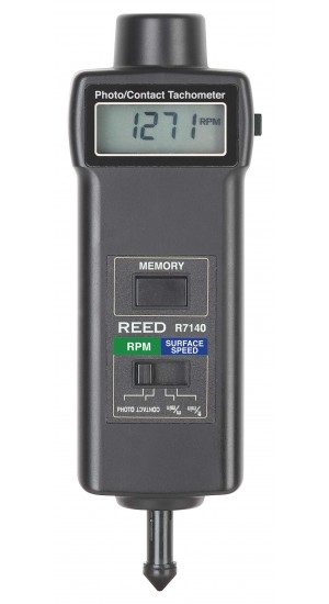 REED R7140 Combination Contact / Photo Tachometer-