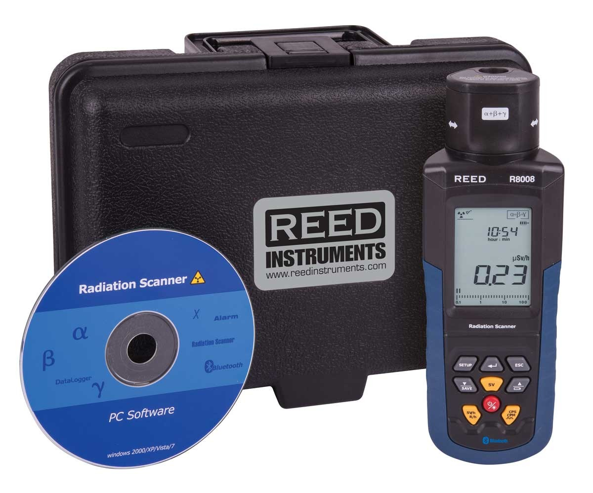 REED R8008 Portable Radiation Meter-Included