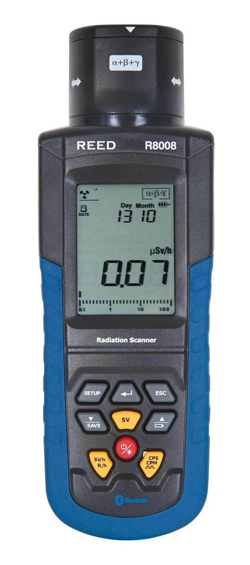 REED R8008 Portable Radiation Meter-