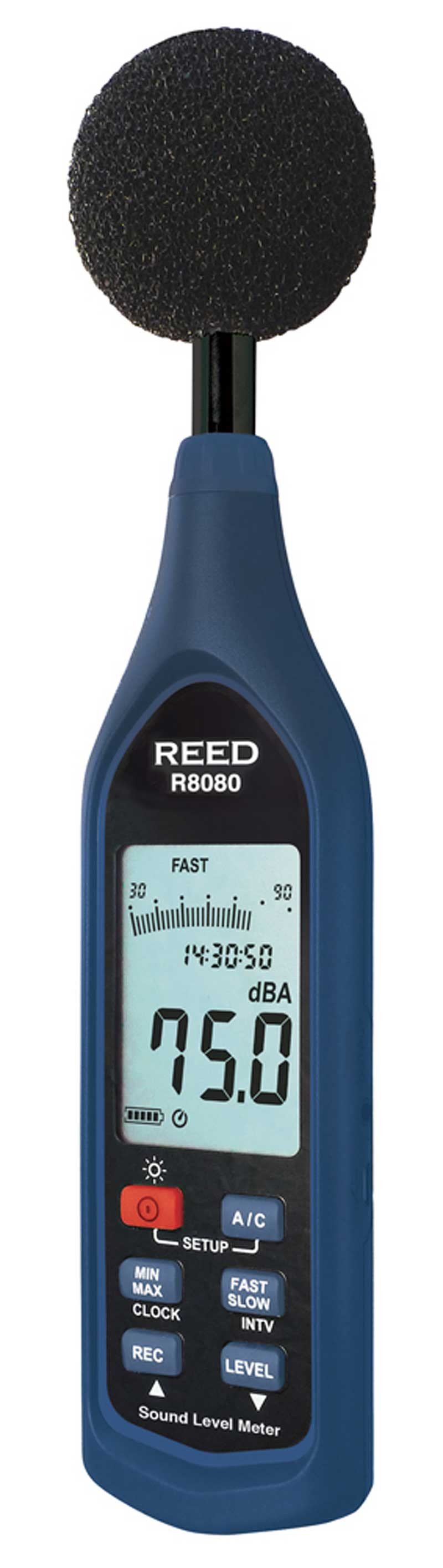 REED R8080 Data Logging Sound Level Meter with Bargraph-