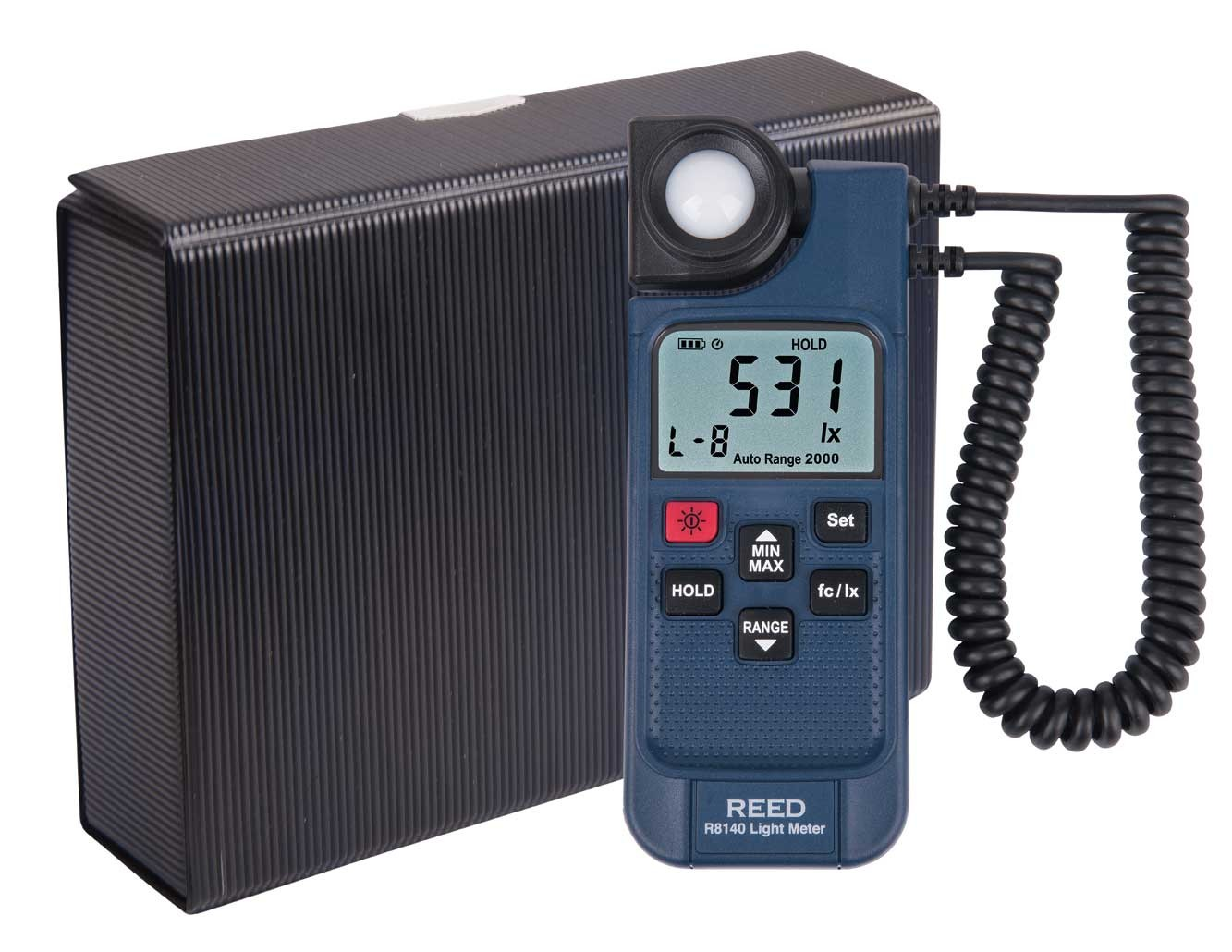 REED R8140 LED Light Meter-Included