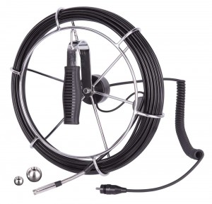 REED R8500-20M 9.8mm Camera Head on 65.6' (20M) Cable Reel for R8500 Video Inspection Camera-