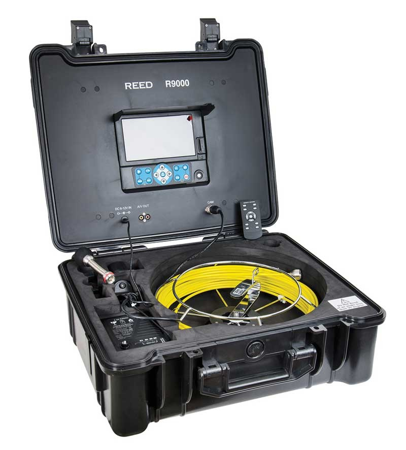 REED R9000 HD Video Inspection Camera System-
