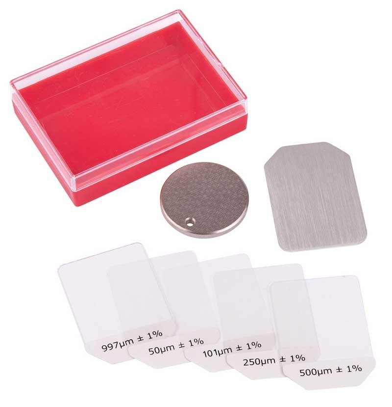 REED R9050 Coating Thickness Calibration Kit-