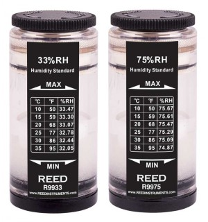 REED R9980 Humidity Calibration Kit (33% and 75%)-
