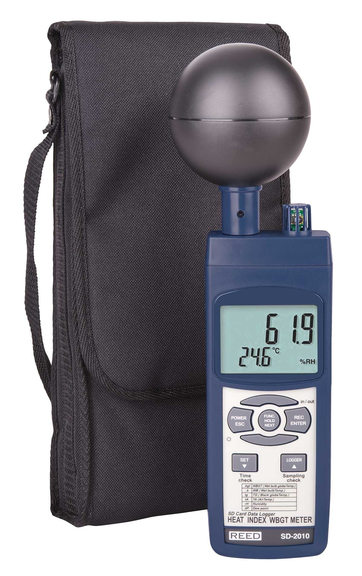 REED SD-2010 Data Logging Heat Stress Meter-Included
