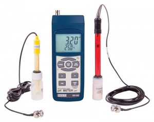 REED SD-230-KIT2 SD Series pH/ORP Datalogger Kit, with pH and ORP Electrodes-