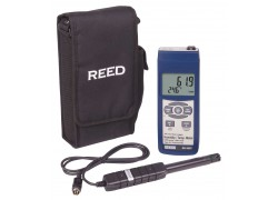 REED SD-3007 SD Series Thermo-Hygrometer Datalogger, 32 to 112°F (0 to 50°C), 5-95%RH, Wetbulb/Dewpoint Temperatures-Included