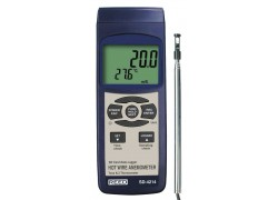 REED SD-4214 SD Series Hot Wire Thermo-Anemometer, Datalogger, with Temperature-